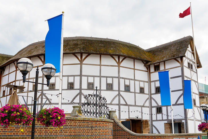 The Globe, rekonstruksjonen av Shakespeares teater i London