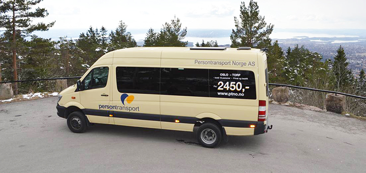 Minibus transport to and from TORP