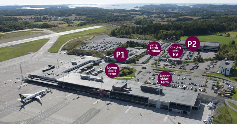Parking at torp airport
